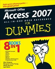 Microsoft Office Access 2007 All-in-one Desk Reference For Dummies - SIMPSON, ALAN
