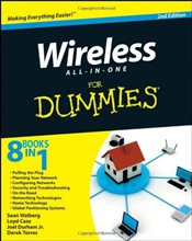 Wireless All in One For Dummies - Walberg, Sean