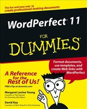 Wordperfect 11 for Dummies (For Dummies (Computers)) - Young, Margaret Levine