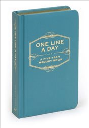 One Line a Day : Five-Year Memory Book - Chronicle Books