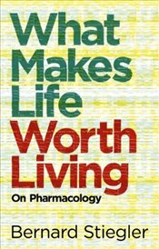What Makes Life Worth Living : On Pharmacology - Stiegler, Bernard