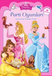 Pandora Disney Prenses Parti Oyunlari Cikartmali Boyama Kitabi