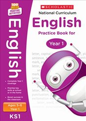 National Curriculum English Practice - Year 1 (100 Lessons - 2014 Curriculum) - Scholastic,