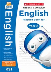 National Curriculum English Practice - Year 2 (100 Lessons - 2014 Curriculum) - Scholastic,