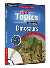 Dinsoaurs CD Rom (Hot Topics) - Riley, Peter