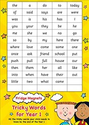 Common exception words Year 1 (Scholastic Magnets) - Scholastic,