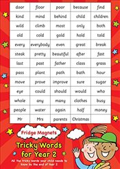 Common exception words Year 2 (Scholastic Magnets) - Scholastic,