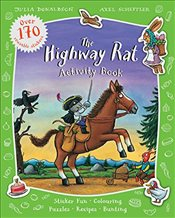 Highway Rat Activity Book - Donaldson, Julia