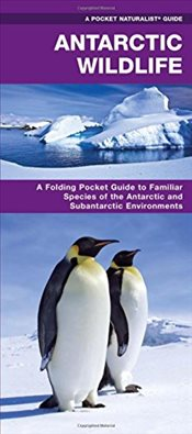 Antarctic Wildlife: A Folding Pocket Guide to Familiar Species of the Antarctic and Subantarctic Env - Kavanagh, James