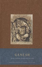 Ganesh Hardcover Blank Journal (Large) - Sharma, Indra