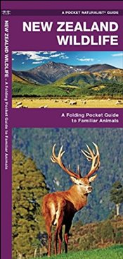 New Zealand Wildlife : A Folding Pocket Guide to Familiar Animals - Kavanagh, James