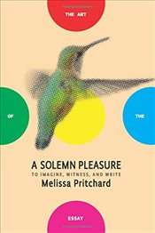 Solemn Pleasure : To Imagine, Witness, and Write  - Pritchard, Melissa