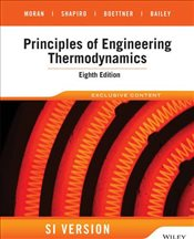 Principles of Engineering Thermodynamics 8e : SI Version - Moran, Michael J.