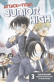 Attack on Titan: Junior High 3 - Isayama, Hajime