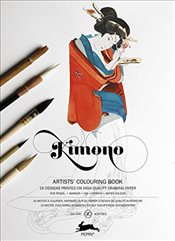 Kimono : Artists Colouring Book - Roojen, Pepin Van