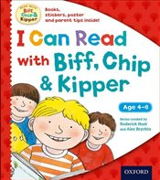 I Can Read with Biff, Chip and Kipper Pack (Biff Chip & Kipper) - Hunt, Roderick