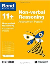 Bond 11+: Non-verbal Reasoning: Assessment Papers: 5-6 years - Bond, J M
