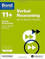Bond 11+: Verbal Reasoning: Up to Speed Practice: 8-9 years - Down, Frances