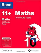 Bond 11+: Maths: 10 Minute Tests: 11+-12+ years - Lindsay, Sarah