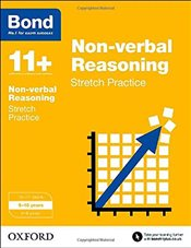 Bond 11+: Non-verbal Reasoning: Stretch Practice: 9-10 years - Primrose, Alison