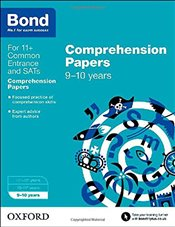 Bond 11+: English: Comprehension Papers: 9-10 years - Hughes, Michellejoy