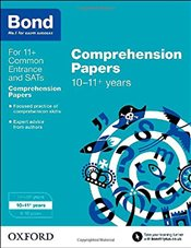 Bond 11+: English: Comprehension Papers: 10-11+ years - Hughes, Michellejoy