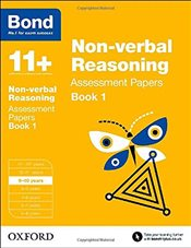 Bond 11+: Non-verbal Reasoning: Assessment Papers: 9-10 years Book 1 - Baines, Andrew