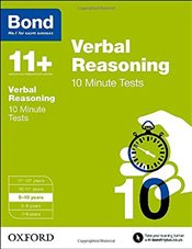 Bond 11+: Verbal Reasoning: 10 Minute Tests: 9-10 years - Down, Frances