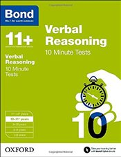 Bond 11+: Verbal Reasoning: 10 Minute Tests: 10-11+ years - Down, Frances
