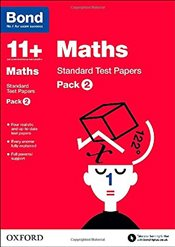 Bond 11+: Maths: Standard Test Papers: Pack 2 - Lindsay, Sarah