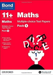 Bond 11+: Maths: Multiple-choice Test Papers: Pack 1 - Baines, Andrew