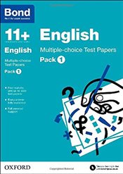 Bond 11+: English: Multiple-choice Test Papers - Lindsay, Sarah
