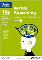 Bond 11+: Verbal Reasoning: Multiple-choice Test Papers: Pack 1 - Down, Frances