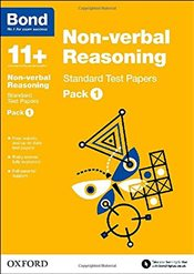 Bond 11+: Non-verbal Reasoning: Standard Test Papers: Pack 1 - Baines, Andrew