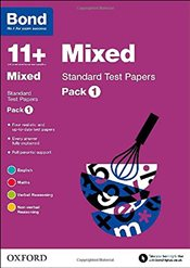 Bond 11+: Mixed: Standard Test Papers: Pack 1 - Baines, Andrew