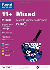 Bond 11+: Mixed: Multiple-choice Test Papers: Pack 2 - Down, Frances