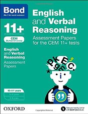 Bond 11+: English and Verbal Reasoning: Assessment Papers for CEM - Hughes, Michellejoy