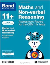 Bond 11+: Maths and Non-verbal Reasoning: Assessment Papers for CEM: 9-10 years - Primrose, Alison
