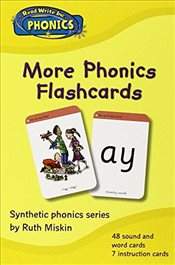 Read Write Inc. Phonics: Home More Phonics Flashcards - Miskin, Ruth