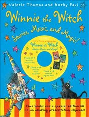 Winnie the Witch: Stories, Music, and Magic! (5 books with CD) - Thomas, Valerie
