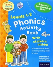 Oxford Reading Tree Read With Biff, Chip, and Kipper: Levels 1-2: Phonics Activity Book (Read With B - Hunt, Roderick