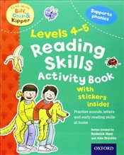 Oxford Reading Tree Read With Biff, Chip, and Kipper: Levels 4-5: Reading Skills Activity Book (Read - Hunt, Roderick