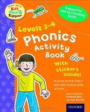 Oxford Reading Tree Read With Biff, Chip, and Kipper: Levels 3-4: Phonics Activity Book (Read With B - Hunt, Roderick