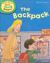 Oxford Reading Tree Read With Biff, Chip, and Kipper: Phonics: Level 3: The Backpack - Hunt, Mr Roderick