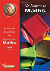 Bond No Nonsense Maths 5-6 years (Bond Assessment Papers) - Lindsay, Sarah