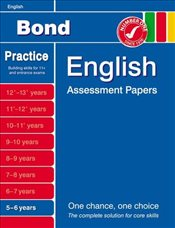 Bond English Assessment Papers 5-6 Years - Lindsay, Sarah