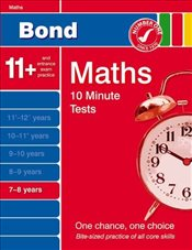 Bond 10 Minute Tests 7-8 Years Maths (7-8 Years) (Bond 10 Minute Tests Maths) - Lindsay, Sarah