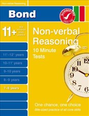 Bond 10 Minute Tests Non-Verbal Reasoning 7-8 years - Primrose, Alison