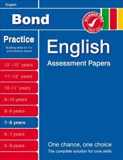 Bond English Assessment Papers 7-8 years - Bond, J M