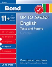 Bond Up to Speed English Tests and Papers 8-9 years - Down, Frances